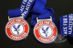 China Eagle Logo Football Sports Metal Award Medal,Die casting Soft Enamel And Imitation Hard Enamel With Ribbon wholesale