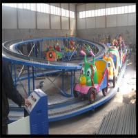 High quality amusement park kids mini shuttle electric cars china, mini roller coaster