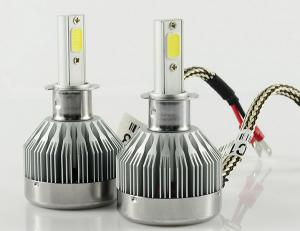 China Hot Cheap C1 60W 6000LM Fanless H3 LED HEADLIGHT with 6000K on sale