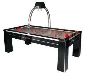 China Deluxe 7.5FT Air Hockey Game Table With Overhead Projection Electronic Scoring on sale