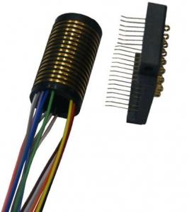China Separate Slip Ring 15 Circuits Models Compact Design And Gold to Gold Contact on sale