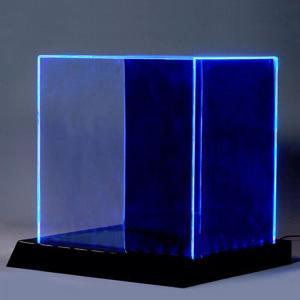 China Eco - Friendly Acrylic Light Box Display Acrylic Led Sign Silk Screen Printing on sale