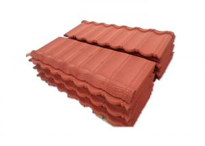 China 2.8kg Light Weight Stone Coated Roofing Sheet ISO Quality Management System on sale