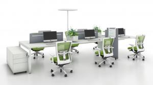 China Detachable Modular Workstation Office Furniture ,Office Cubicle Partition on sale