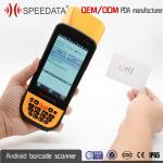 Pocket UHF Bluetooth Hand Held Rfid Reader 1.8m Drop Protection