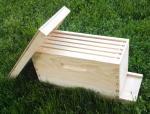 Beekeeping4/ 5 Frames Wooden Bee Nuc Boxes for queen bees