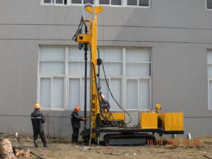 China Powerful! Multifunction truck mounted geothermal drilling rig AKL-Z-400D on sale