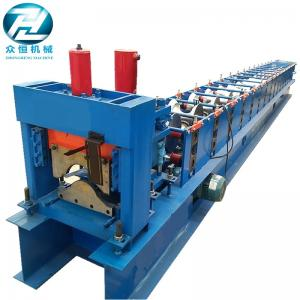 China 15 Rows Ridge Cap Roll Forming Machine Cold Roll Forming Equipment on sale