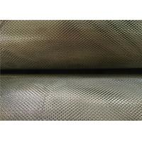 3 X 5 Mm Zinc Coated Steel Expanded Metal Mesh 0.4Mm Thickness 18Kg Per Roll