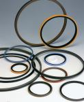 Heat Resistant Silicone Rubber O Ring Gasket Customized Design For Industrial