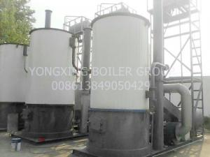 China Vertical Thermal Oil Boiler 950kw Thermal Fluid Heating System Constant Temperature on sale