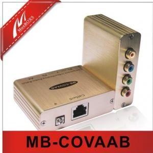 China Component Video/Analog Audio Extender Over Cat5e/6  MB-COVAAB on sale