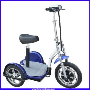 China China Topwheel TP012D powerful 3 wheel 500w electric zappy motorcycle scooter for handicapped old people scooters on sale