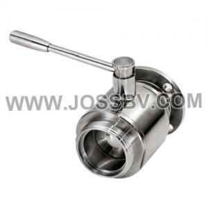 China Sanitary Stainless Steel Ball Valve Flange on sale