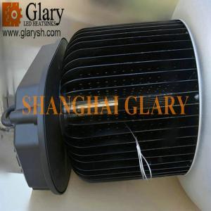 """China 9.06"""" Dissipador de calor redondo da aleta, radiador, refrigerador para luzes da baía do diodo emissor de luz do poder superior on sale"""