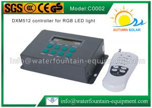 China DMX512 Swimming Pool Light Controller For RGB LED Light Easy Operation on sale