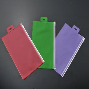 China Made in China Plastic PVC Pencil Pouch Bag With Zipper on sale
