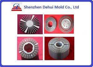 China Les profils en aluminium adaptés aux besoins du client d'extrusion de radiateur pour la LED anodisent la préparation de surface on sale