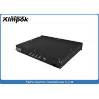 1080P Wireless COFDM Video Receiver , COFDM Transmitter And Receiver