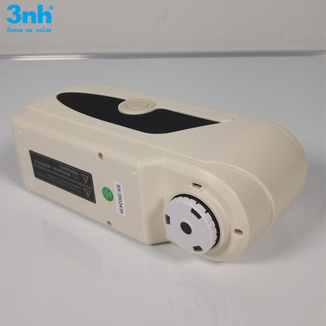 NR200 portable colorimeter for plastics with Color difference Formula E*ab L*ab E*C*H