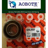 Deep Groove FAG Roller Ball Bearings Single Row 6206-2RSR OEM ODM