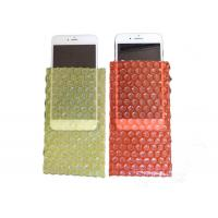 China Custom Size Bubble Wrap Pouches , Bubble Wrap Pockets For Mobile Phone on sale