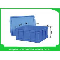 Durable Plastic Stacking Boxes  , Plastic Stacking Storage Bins Environmental Protection