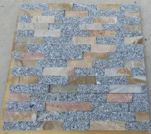 China Natural Quartzite Stone Wall Cladding and Cultural Stone Facade on sale
