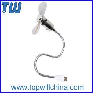 China Shinning Light Flexible USB Fan Safe Fan Low Noise Low Power on sale