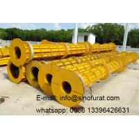 China Prestressed concrete electric pole forming mould on sale