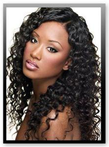 China China Human Hair Extension/Fashion Weave, The Best Deep Wavy, Human Hair on sale
