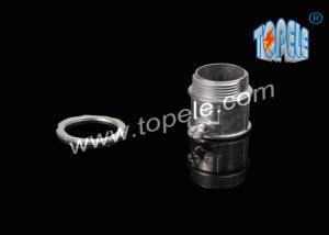 China EMT Electrical Conduit And Fittings / Zinc Die Cast EMT Conduit Connector Set-screw / 1/2-4 Zinc Die Casting on sale