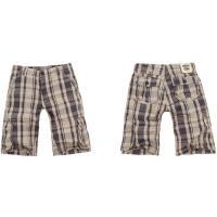 China Forme a pantalones de la playa de los pantalones cargo de los pantalones cortos de la tela escocesa de los hombres la versión floja on sale