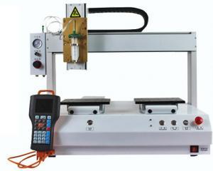 China XHL-D33130 three Axis glue dispenser machine 3axis 30CC fluid glue dispensing machine on sale