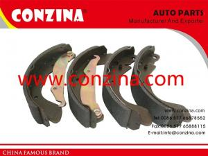 China Daewoo Cielo Nexia rear brake shoes OEM NP-1441 good material quite no nosie on sale