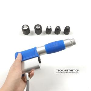 China Pneumatic Shockwave Ed For Body Pain Relief Shock Wave Handle With 5 Tips on sale