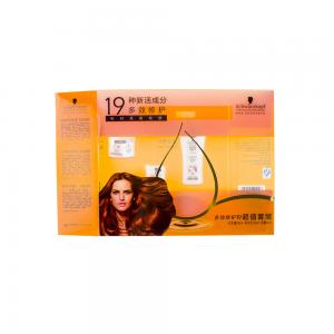 China Foldable Perfume Sample Box Hair Extension Packaging Wig Plastic Box on sale