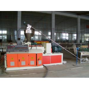 China High Efficiency Plastic Pipe Extrusion Machine / PVC Pipe Production Line on sale