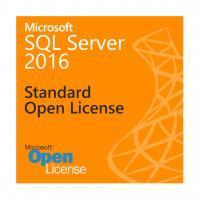 1 Admin User SQL Server 2016 Standard License , Analytics SQL Server 2016 Open License