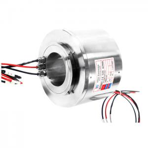 China High IP Level Electrical Slip Ring Integrate RS422 Signal For Offshore Oil Rigs on sale