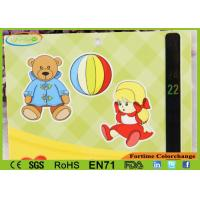 Lovely Carton Design Digital Room Thermometers Card For Baby Health Care