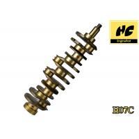 Stable Car Engine Spare Parts Hino H07C 134001583 Casting Iron Crankshaft