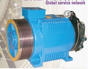 China Elevator Motor,lift motors,traction motors,YASKAWA Gearless Elevator Motor on sale
