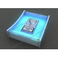 LED Acrylic Cigarette Display , Cash / Coin Trays For Exhibition