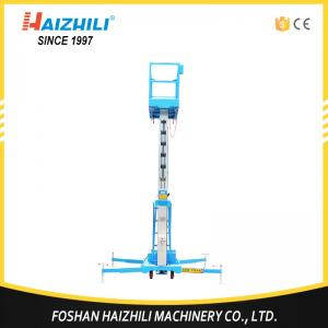 China Best selling general industrial equipment portable single mast aluminum lift platform on sale