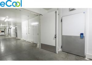 Insulated Panel Assembling Refrigerated Warehouse / Air