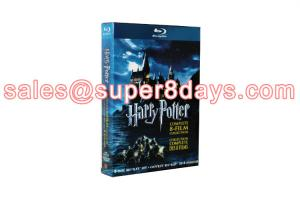 China Wholesale Harry Potter The Complete 8 Film Collection Set Blu-ray DVD Movie on sale