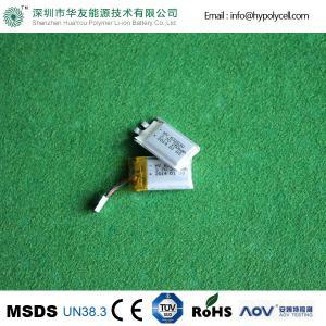 China Bluetooth Battery HYP602030 3.7V 250mAh Li ion Polymer Digital Batteries on sale