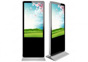 China 32 Original FHD LCD panel Floor Stand Digital Signage Media Player With Wifi on sale