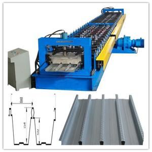 China Professional Floor Decking Forming Machine / Corrugated Sheet Machine on sale